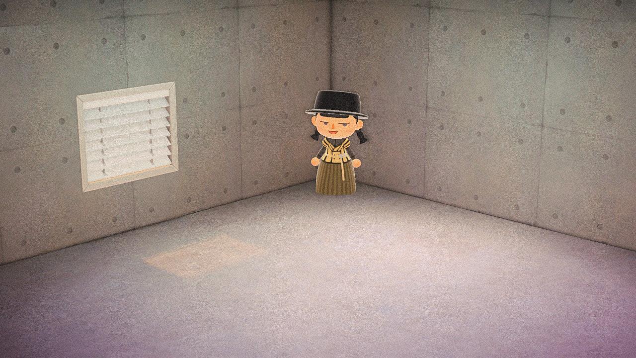 Специальная съемка BURO. x Dior в игре Animal Crossing (фото 4)