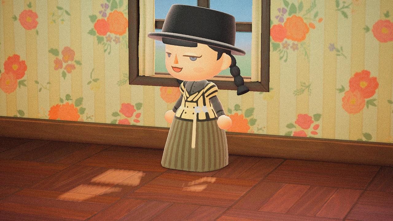 Специальная съемка BURO. x Dior в игре Animal Crossing (фото 2)