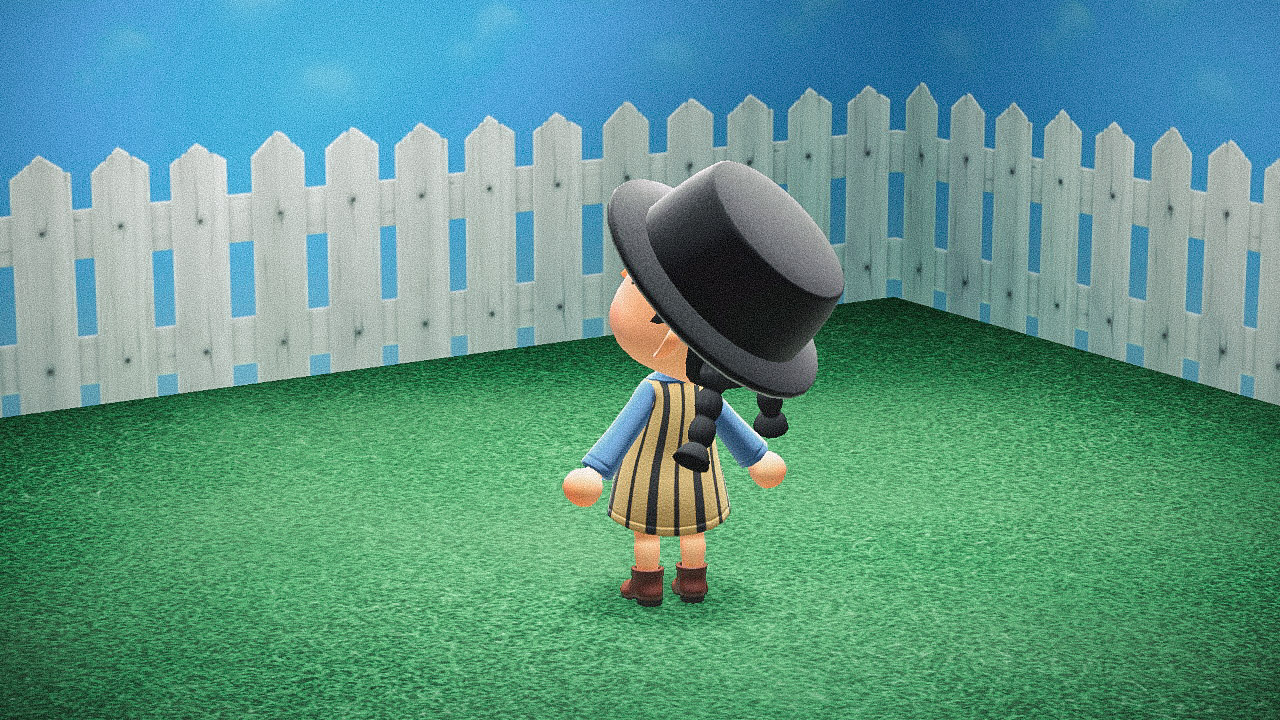Специальная съемка BURO. x Dior в игре Animal Crossing (фото 9)