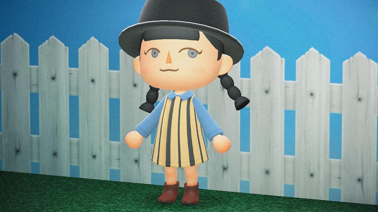 Специальная съемка BURO. x Dior в игре Animal Crossing (фото 10)