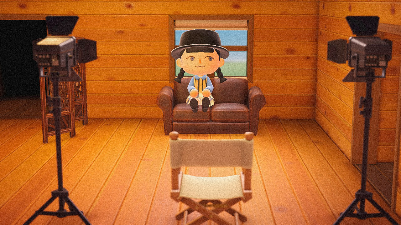 Специальная съемка BURO. x Dior в игре Animal Crossing (фото 1)