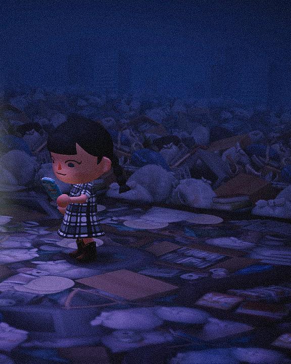 Специальная съемка BURO. x Dior в игре Animal Crossing (фото 8)