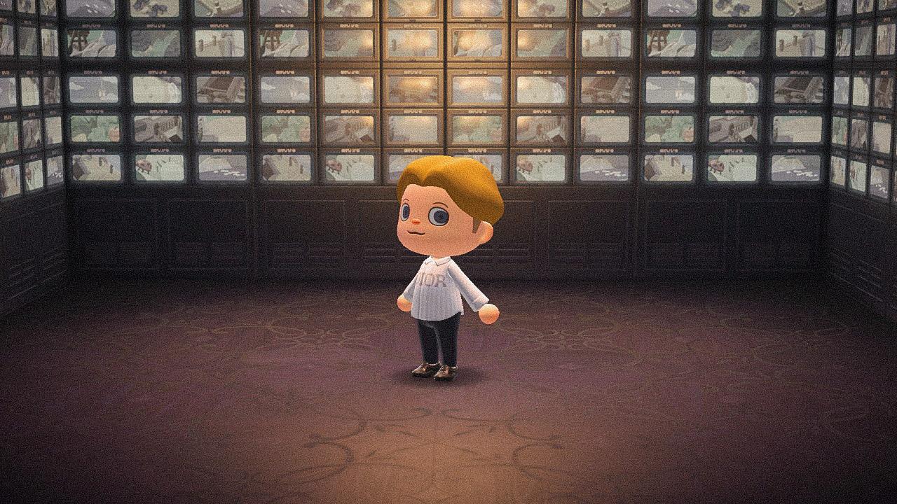 Специальная съемка BURO. x Dior в игре Animal Crossing (фото 14)