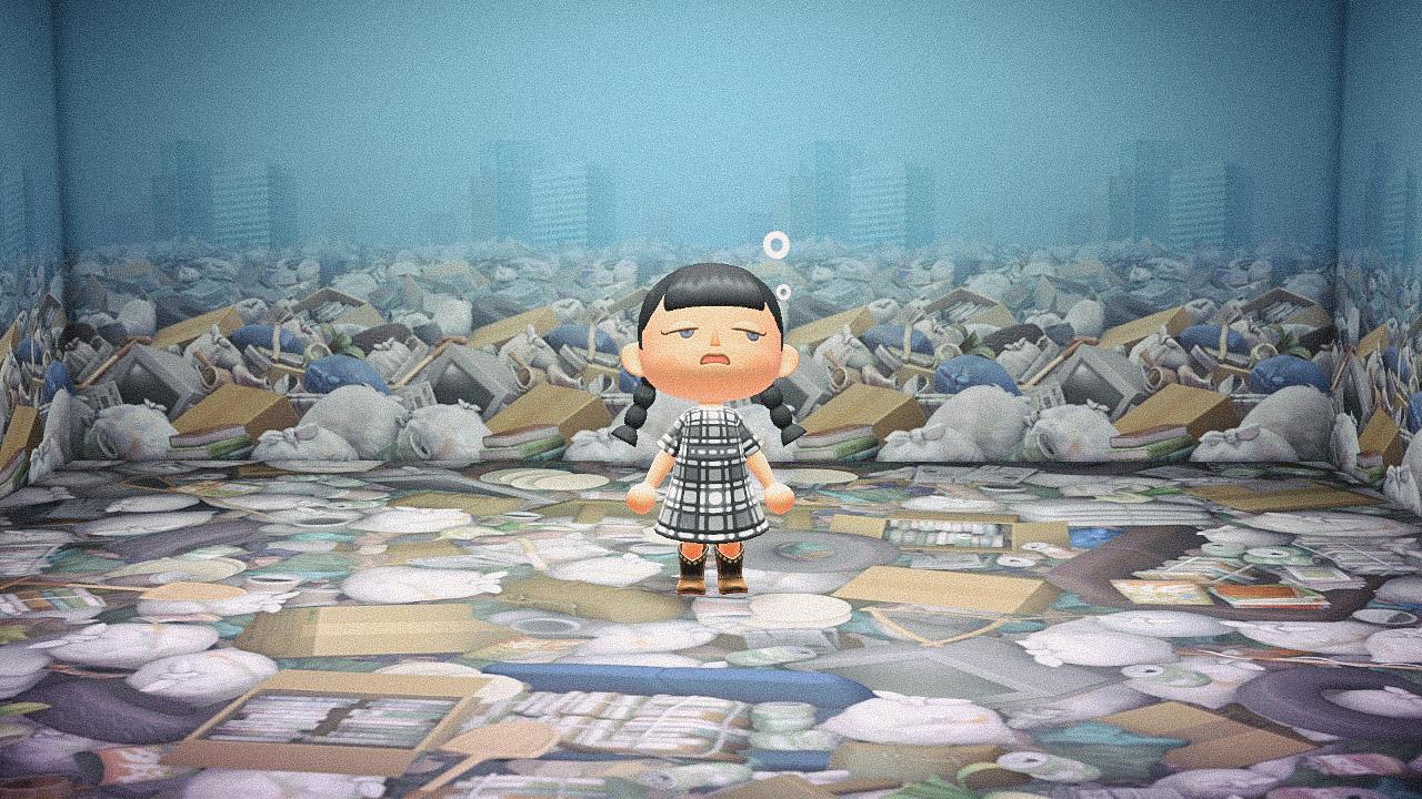 Специальная съемка BURO. x Dior в игре Animal Crossing (фото 5)