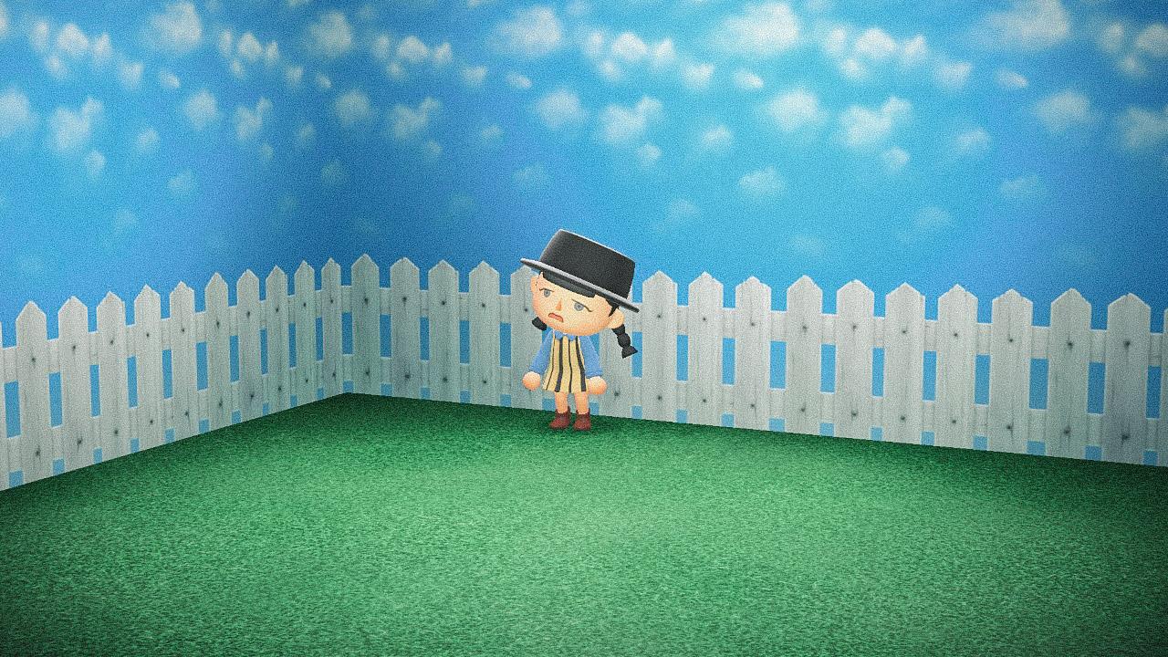 Специальная съемка BURO. x Dior в игре Animal Crossing (фото 11)