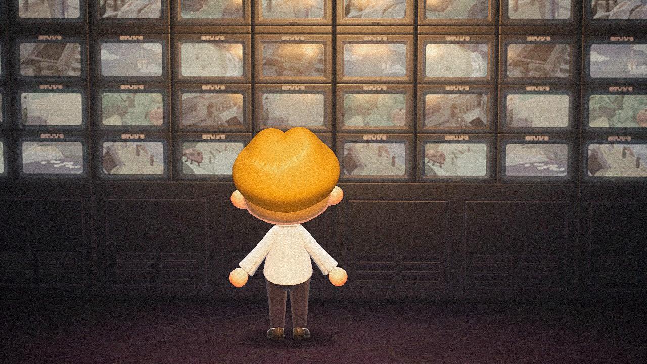 Специальная съемка BURO. x Dior в игре Animal Crossing (фото 12)