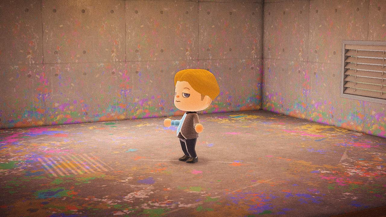 Специальная съемка BURO. x Dior в игре Animal Crossing (фото 15)