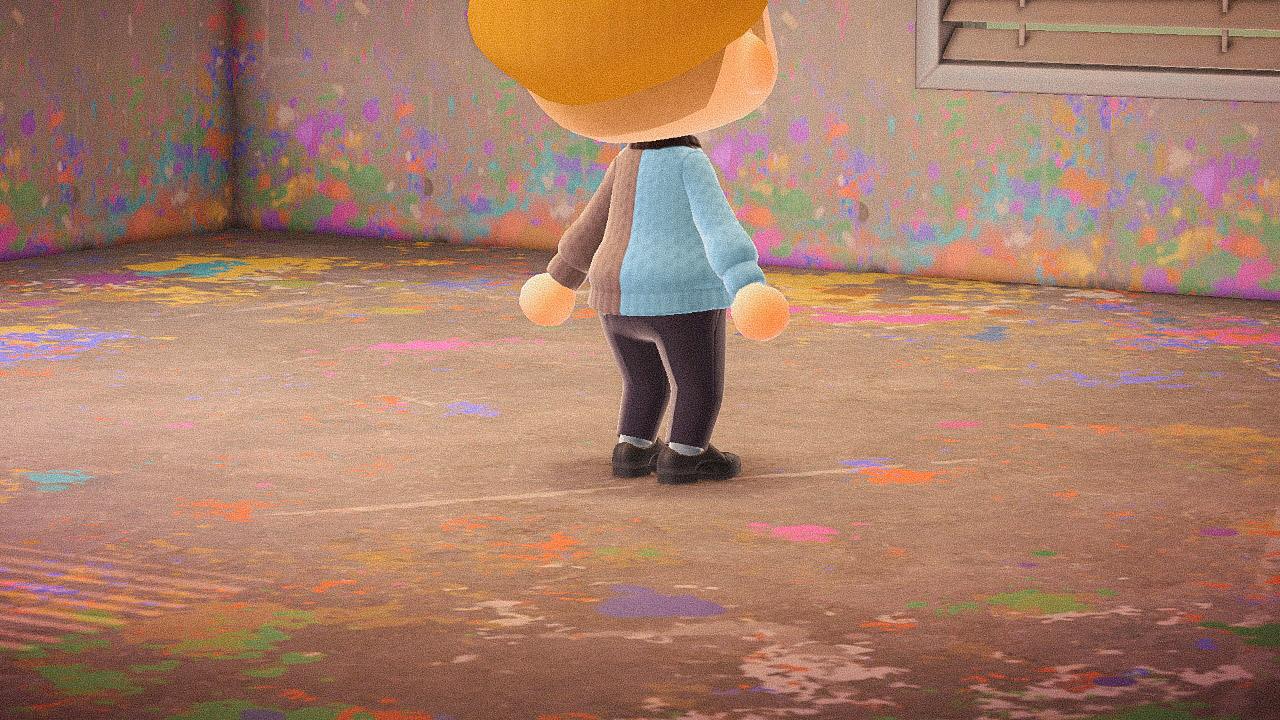 Специальная съемка BURO. x Dior в игре Animal Crossing (фото 17)
