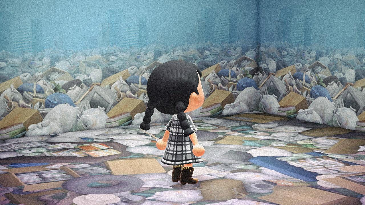 Специальная съемка BURO. x Dior в игре Animal Crossing (фото 6)