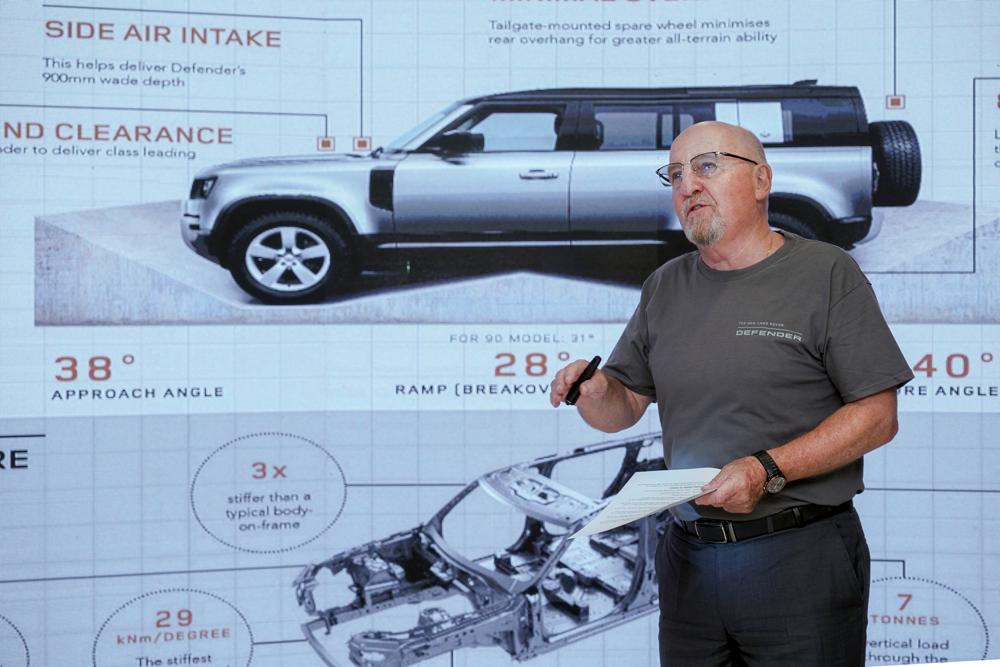 XXI зууны адал явдал эрэлхийлэгчдэд зориулсан шинэ үеийн Land Rover Defender (фото 1)