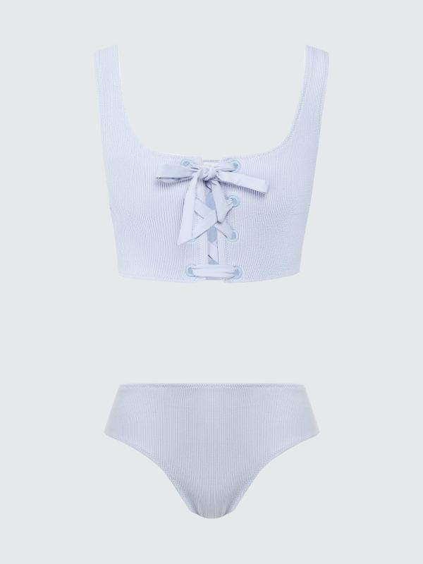 Ямар усны хувцас сонгох вэ: Хуниастай, дөрвөлжин хээтэй, судалтай зэрэг 36 загвар (фото 27)