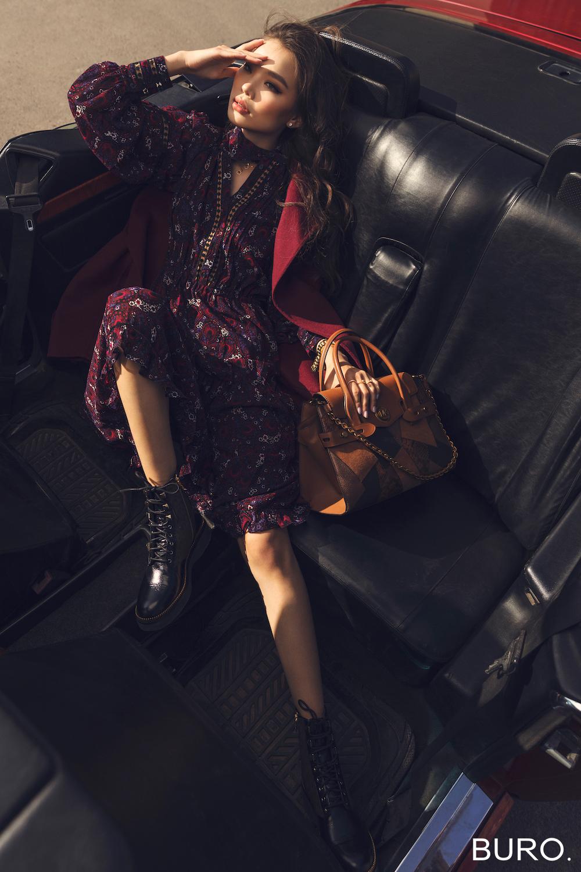 MICHAEL KORS x BURO - Их хотын намар. Эрх чөлөөтэй бүсгүй. Бохо глэм стиль (фото 30)