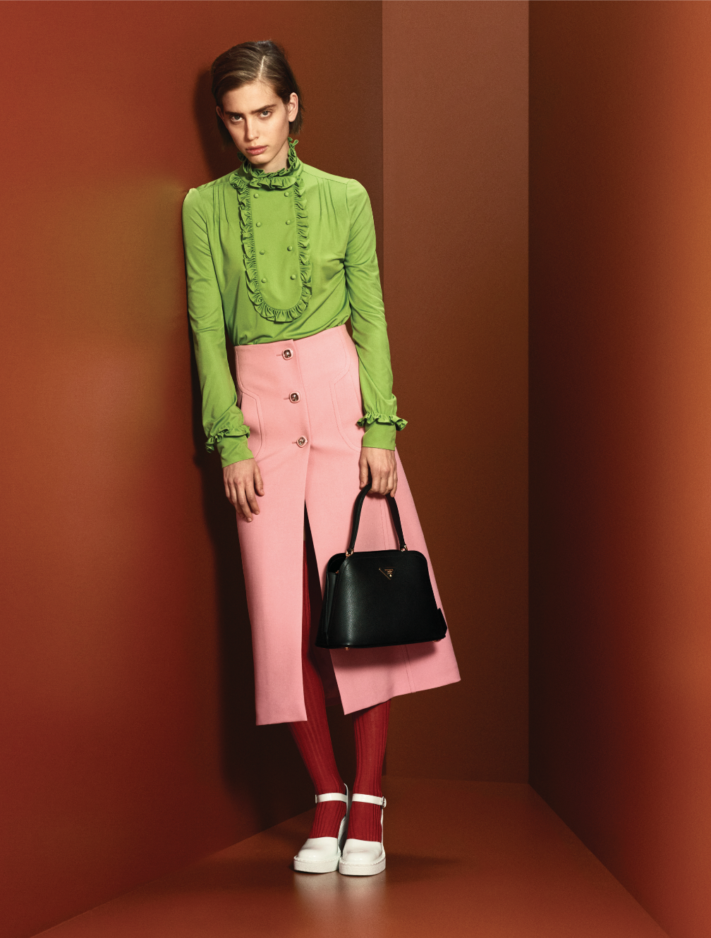Prints, power and positivity are at the heart of Prada's Pre-Fall '20 collection (фото 14)