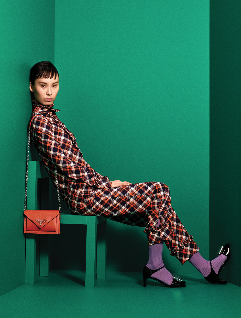 Prints, power and positivity are at the heart of Prada's Pre-Fall '20 collection (фото 17)
