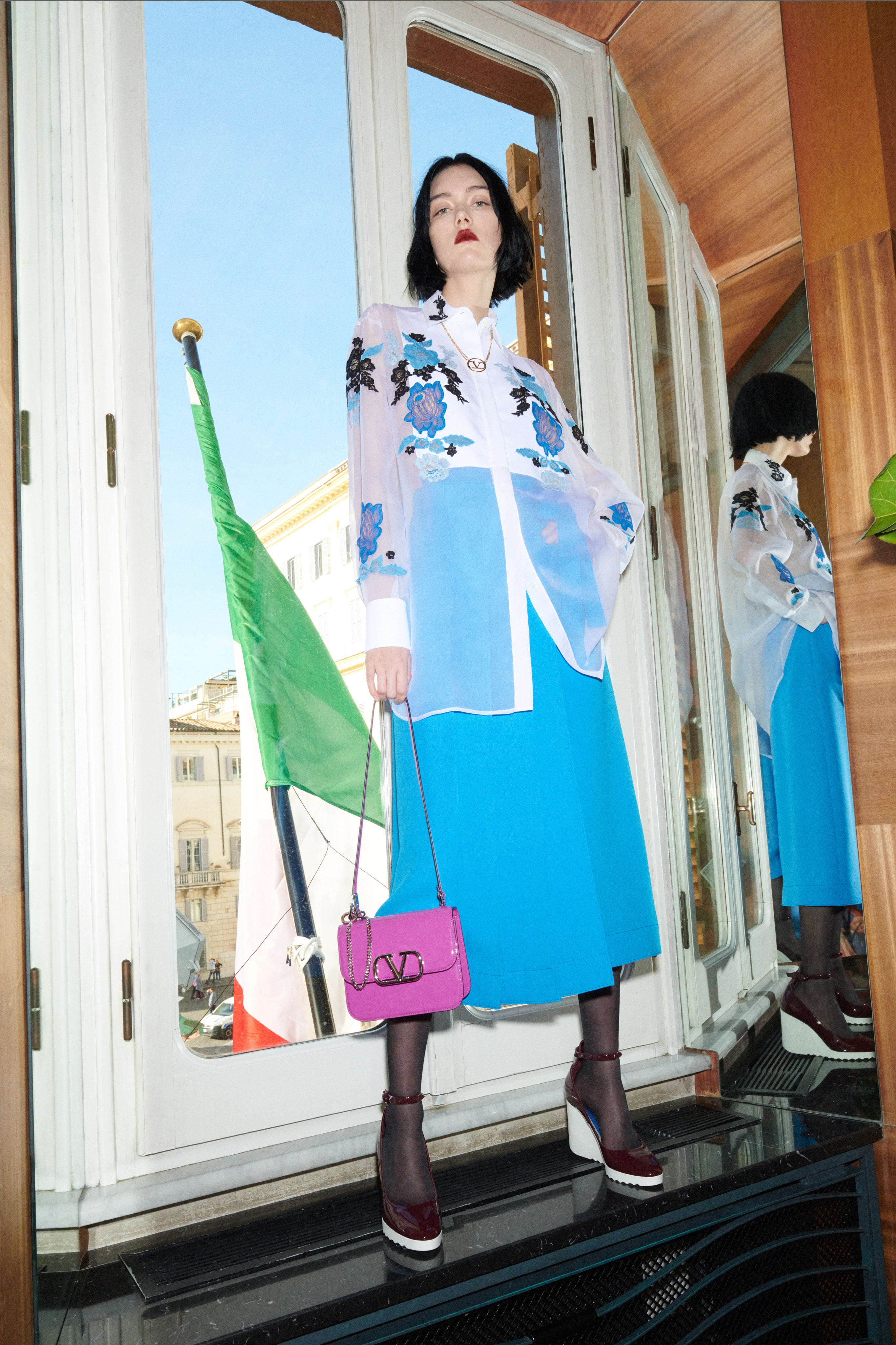 Blue's Clues: Valentino Bluegrace is the collection to have in your wardrobes (фото 6)