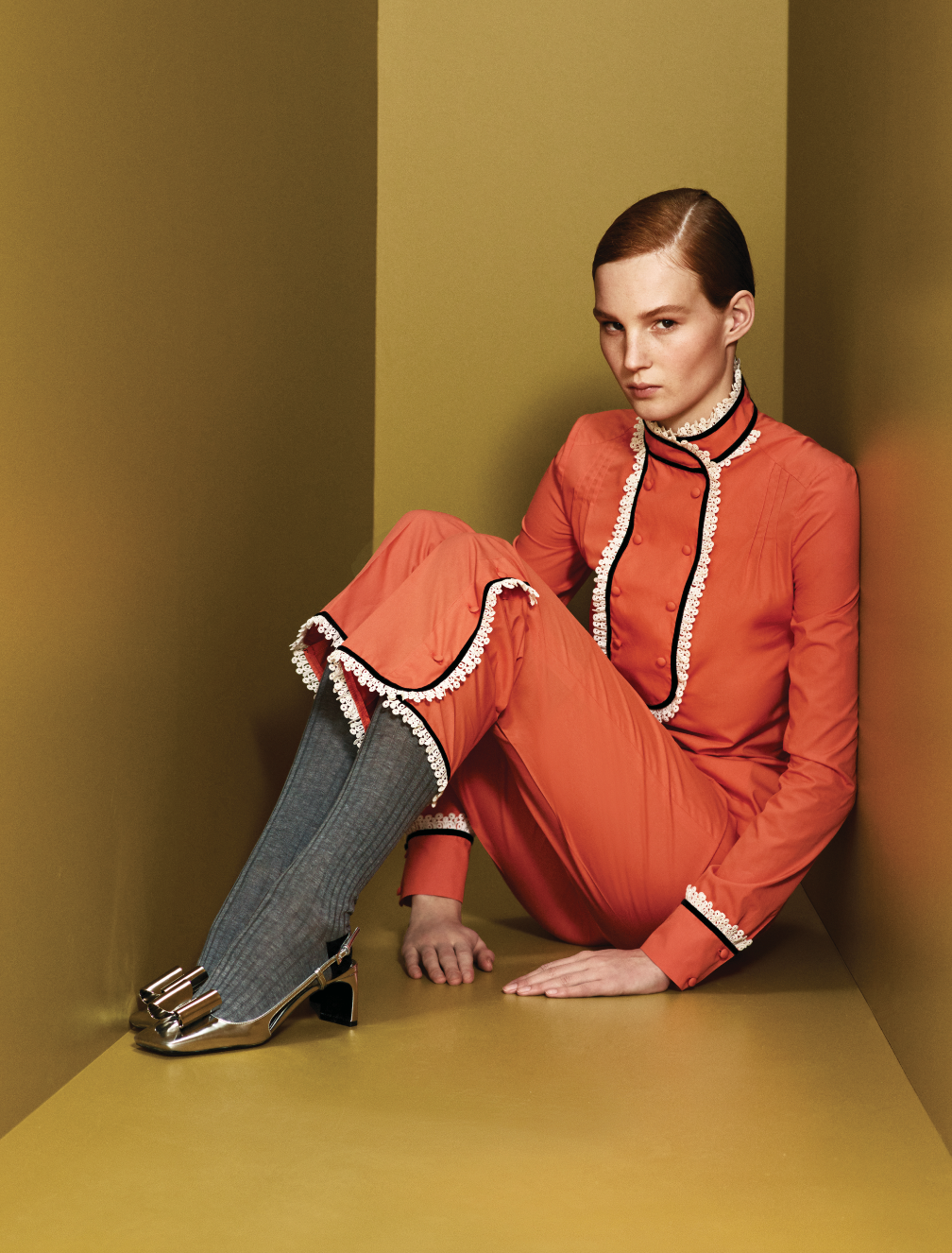 Prints, power and positivity are at the heart of Prada's Pre-Fall '20 collection (фото 2)
