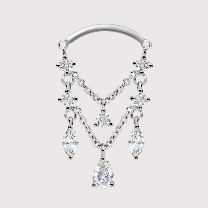 Decorate your ears with Maria Tash's first formal collection (фото 7)