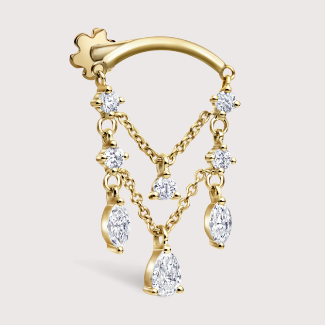 Decorate your ears with Maria Tash's first formal collection (фото 6)