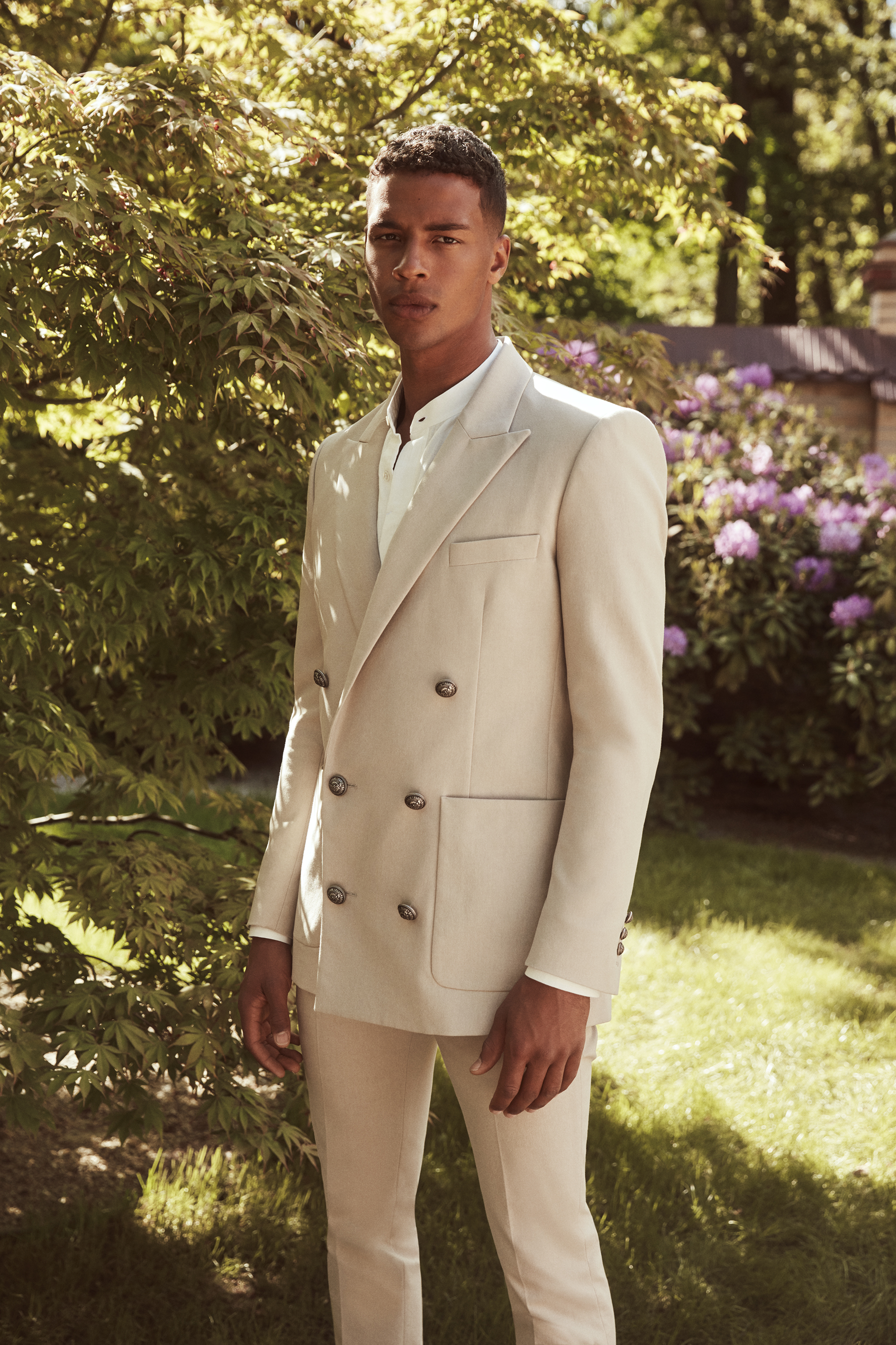 In conversation with: Balmain's Olivier Rousteing on his capsule collection with Mytheresa (фото 6)