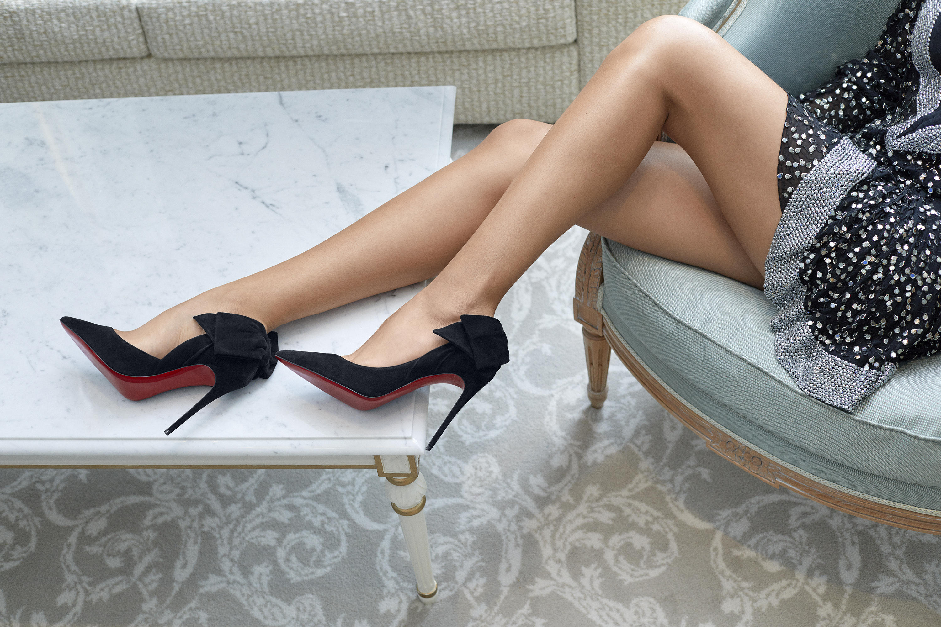 Mytheresa's exclusive capsule collection with Christian Louboutin is now available (фото 1)