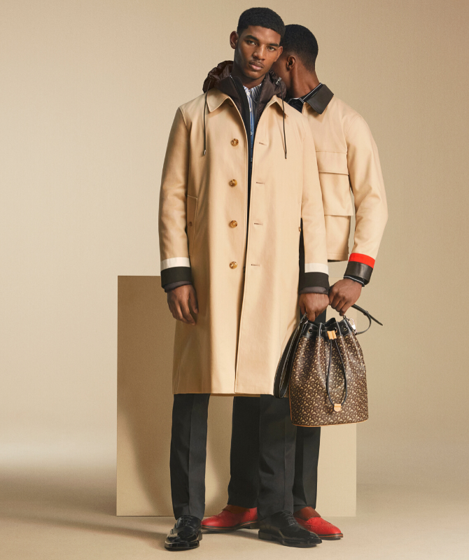 Burberry's new campaign explores the concept of duality (фото 2)