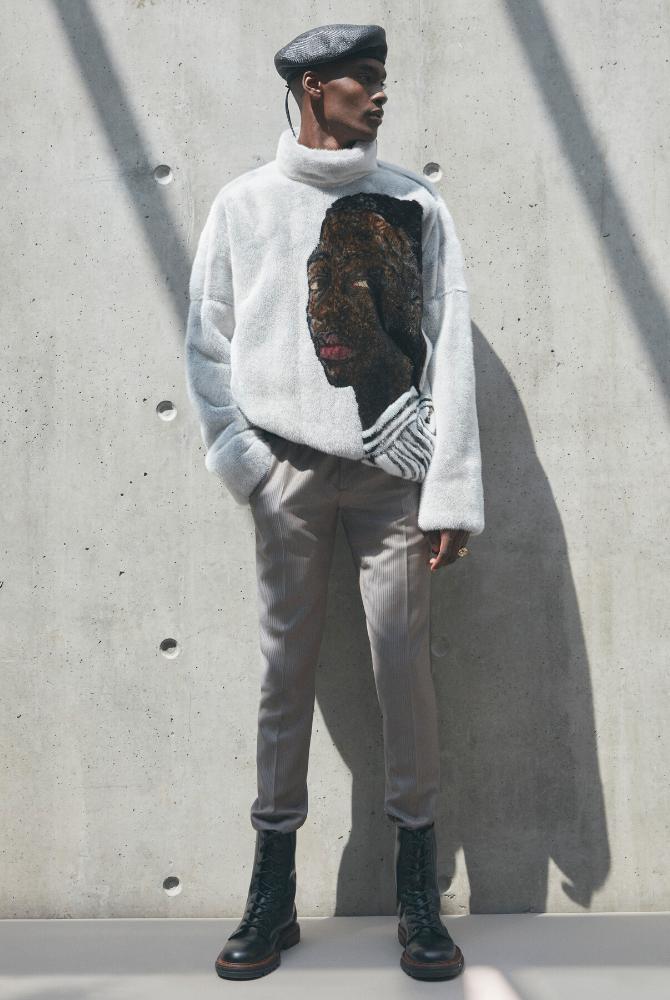 At Dior, Kim Jones shines the spotlight on Ghana with artist Amoako Boafo (фото 2)