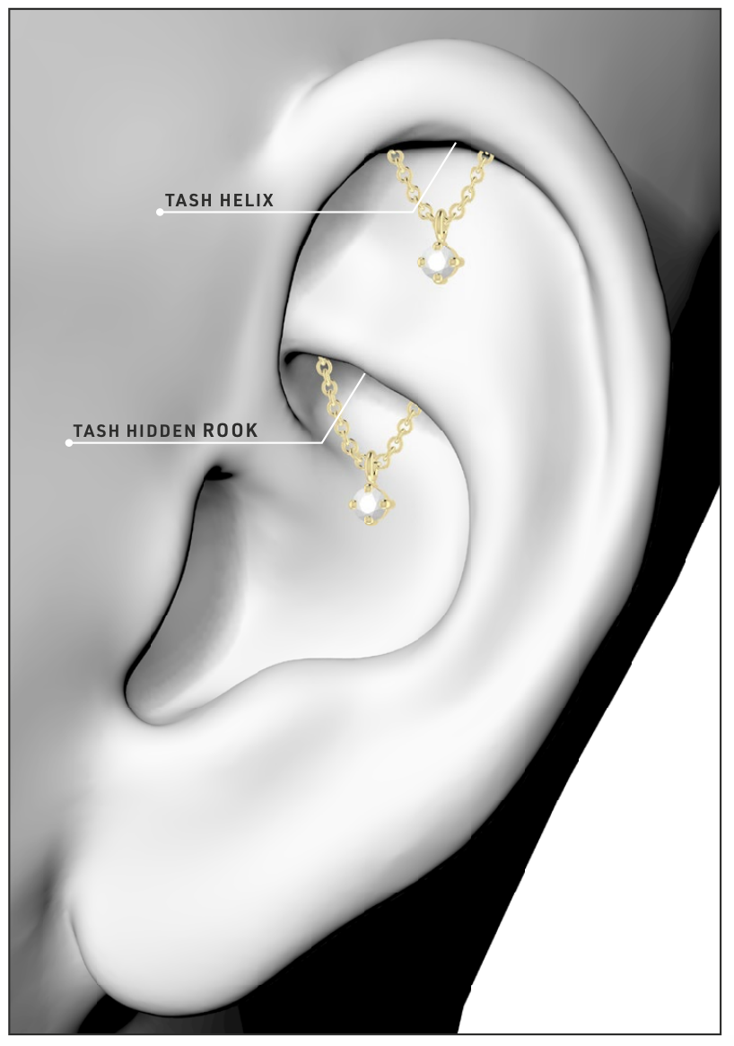 Decorate your ears with Maria Tash's first formal collection (фото 5)