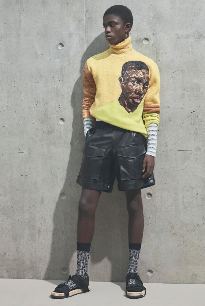 At Dior, Kim Jones shines the spotlight on Ghana with artist Amoako Boafo (фото 1)