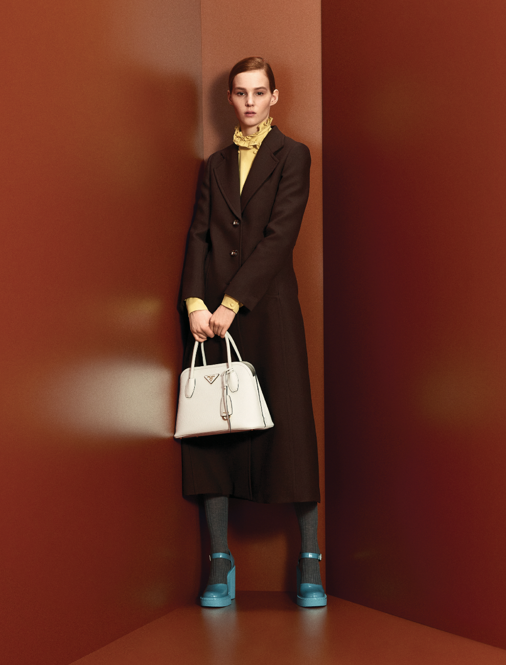 Prints, power and positivity are at the heart of Prada's Pre-Fall '20 collection (фото 5)