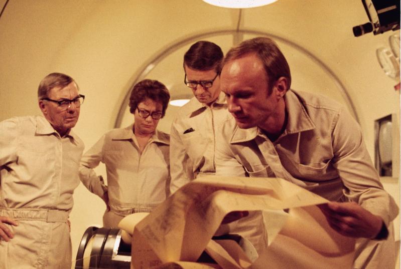 (The Andromeda Strain, 1971, реж. Роберт Уайз)