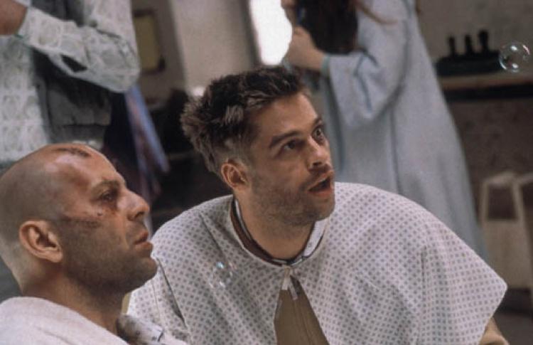 (Twelve Monkeys, 1995, реж. Терри Гиллиам)