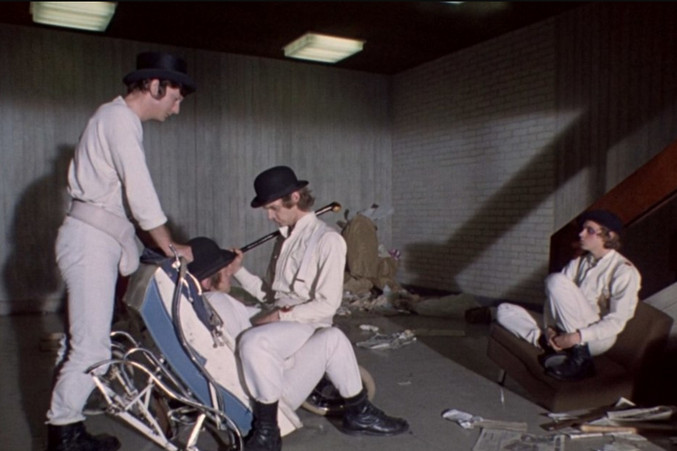 «Заводной апельсин», 1971