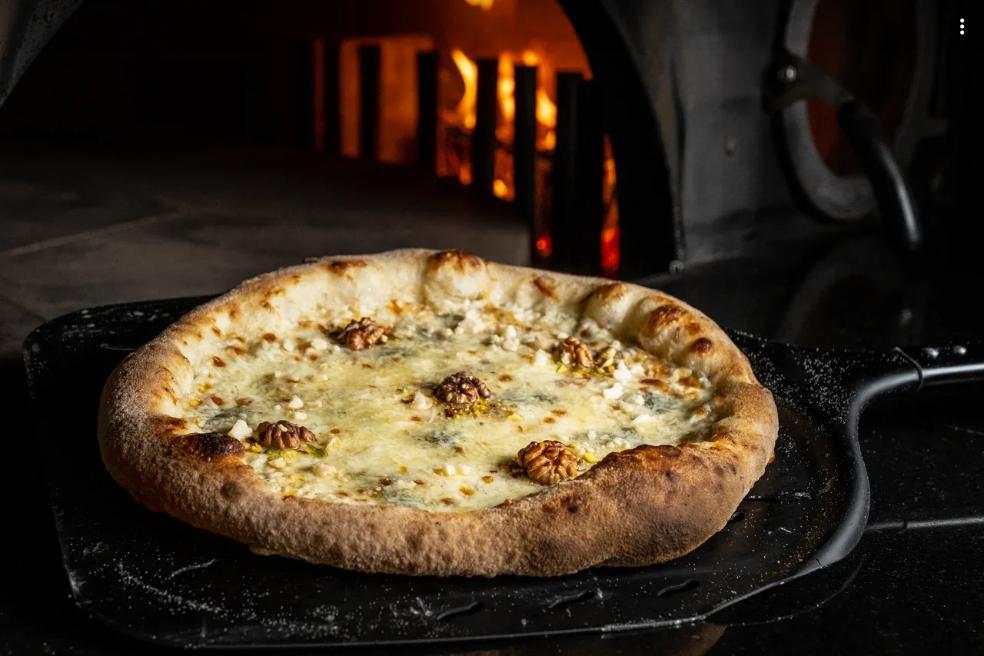 Пицца «6 сыров» в Rossini