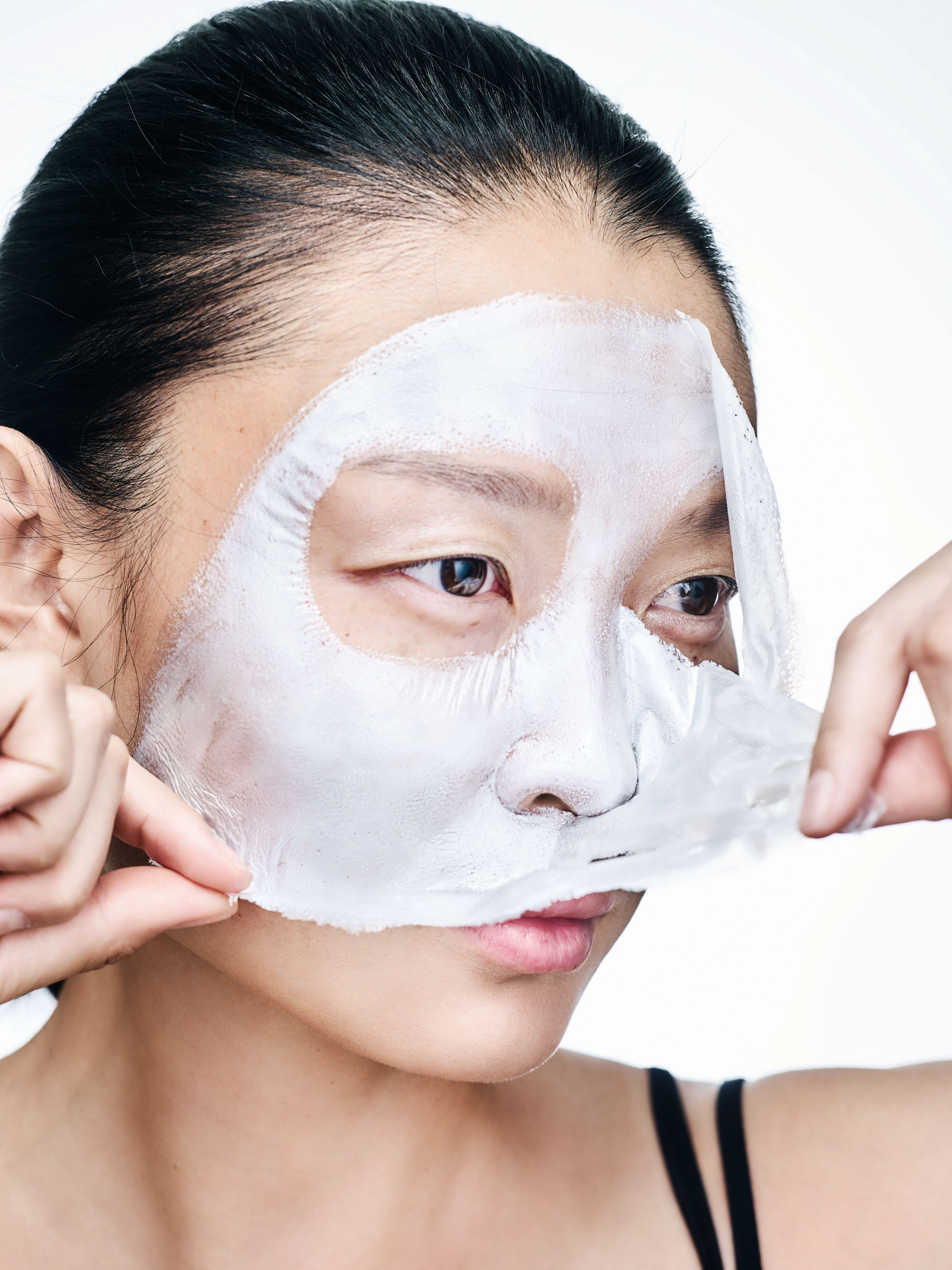 Трехкомпонентная маска OMG! Platinum Silver Facial Mask Kit, Double Dare