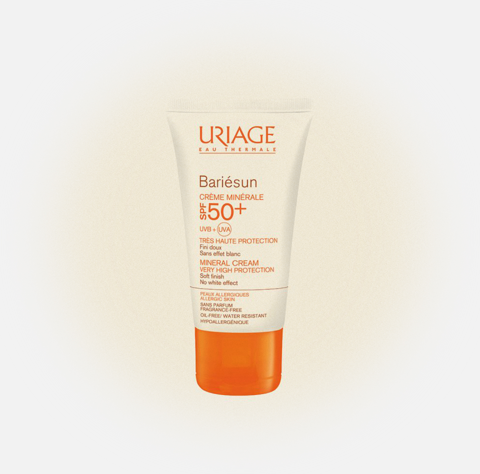 Барьесан SPF 50+ минеральный крем Bariesun SPF 50+ Mineral Cream, Uriage