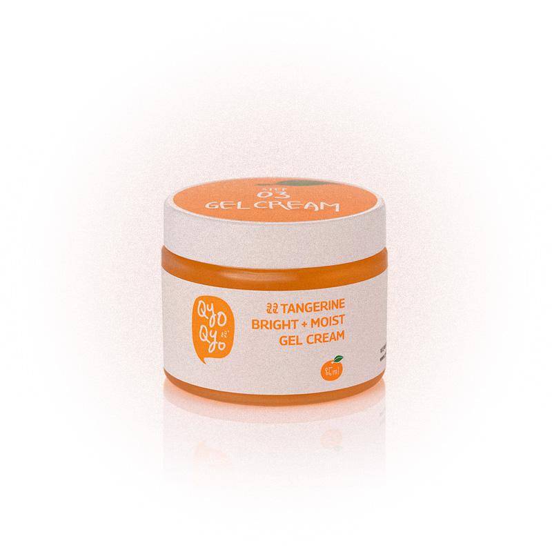 Мандариновый скраб-пилинг Tangerine Bright + Moist Peeling Pack, QyoQyo