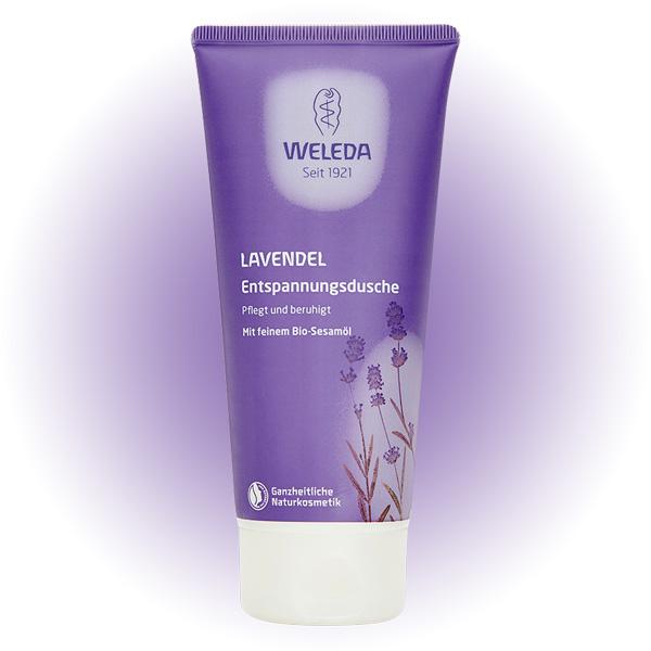 WELEDA lavender creamy body wash