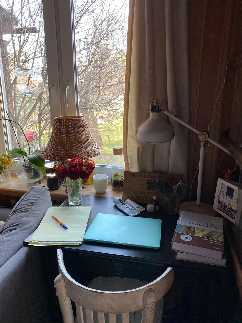 Рабочий стол Ирины Урновой