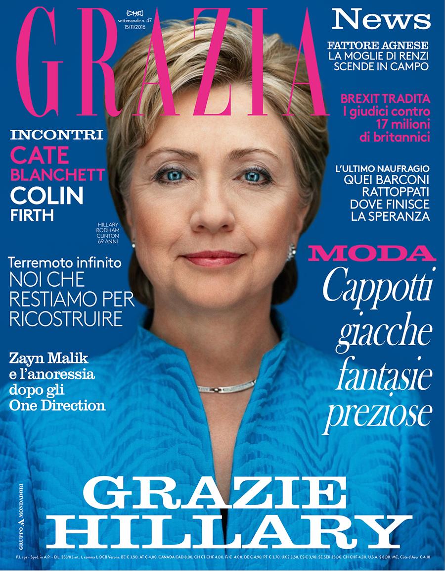 Обложка Grazia