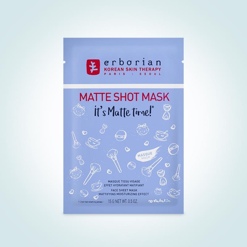 Тканевая маска Matte Shot Mask, Erborian