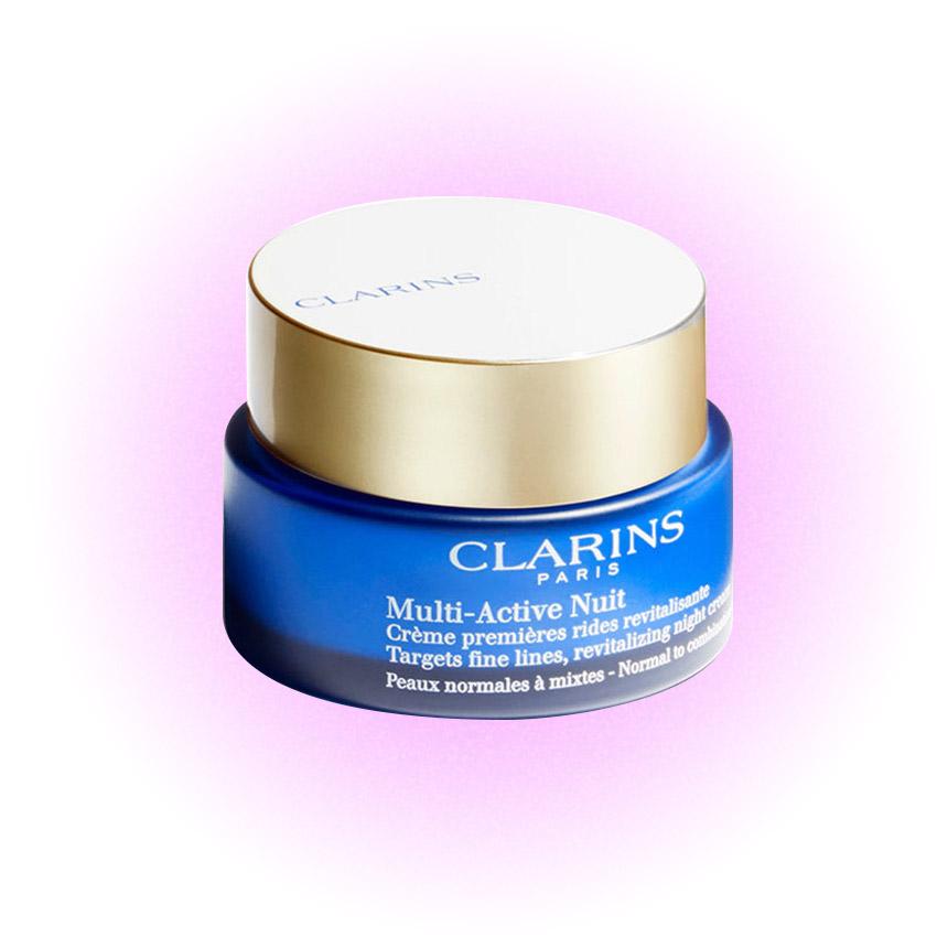 Ночной крем для нормальной и комбинированной кожи Multi-Active, Clarins