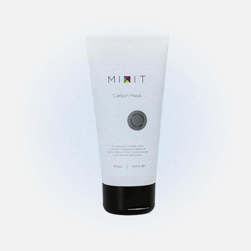 Очищающая угольная маска против черных точек Carbon Mask, Mixit