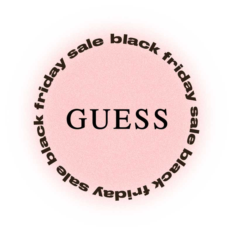 Черная пятница Guess