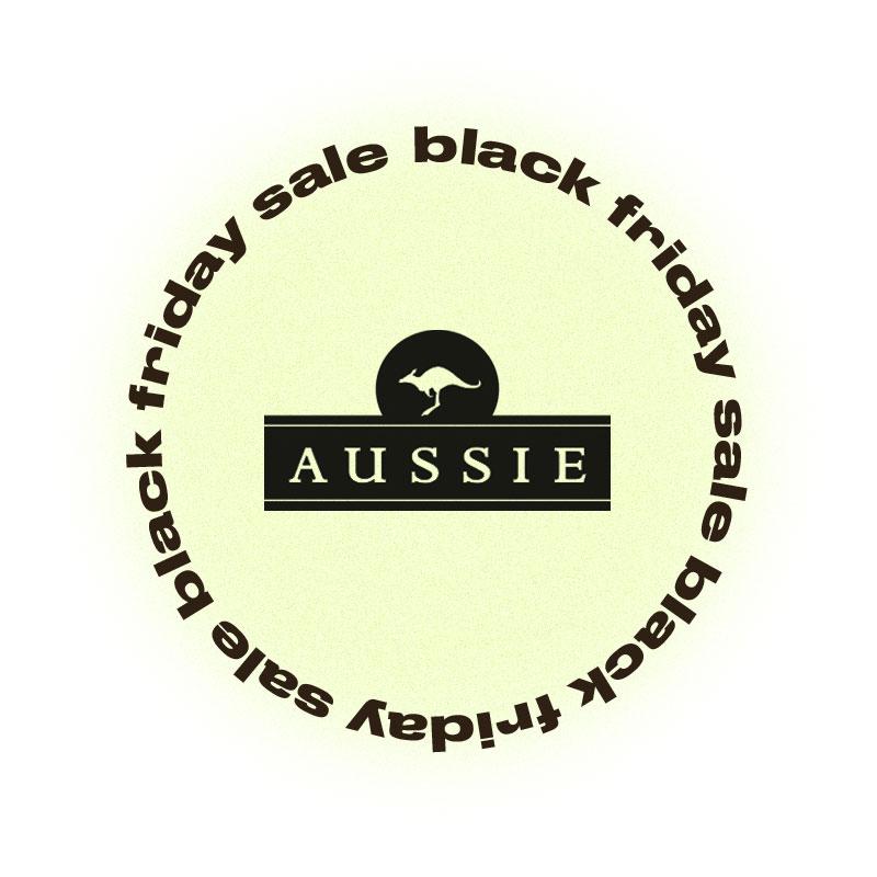 Черная пятница Aussie