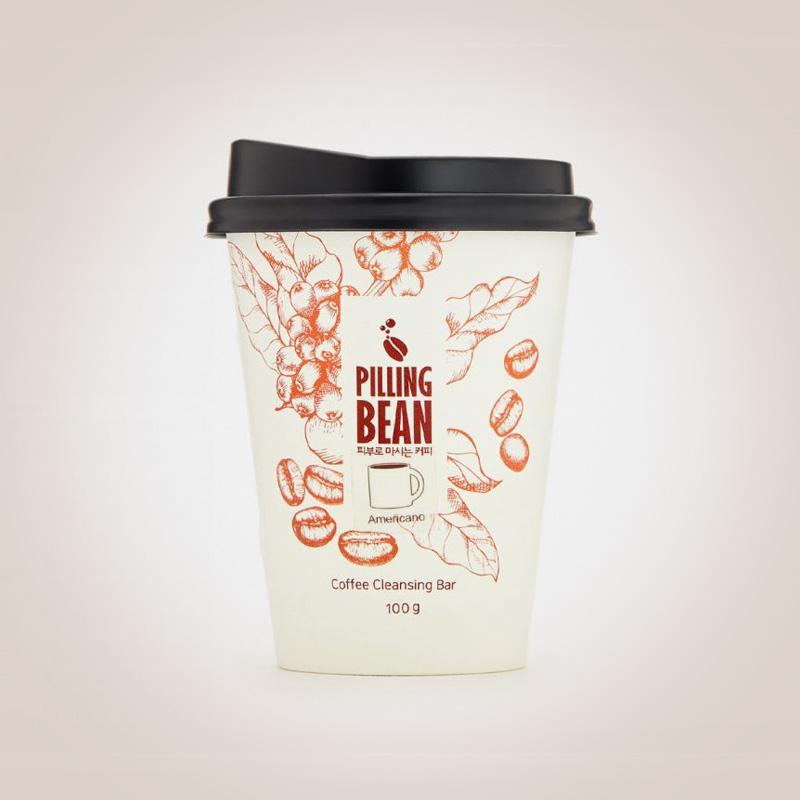 Кофейный очищающий скраб для лица оригинальный Pilling Bean Facial Coffee Scrub Cleanser Original