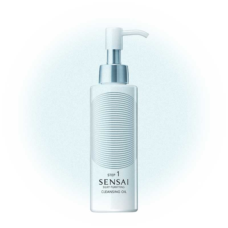 Очищающее масло для лица Silky Purifying Cleansing Oil, Sensai