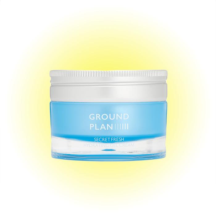Увлажняющий гель-крем Secret Fresh Hydrating Gel Cream, Ground Plan