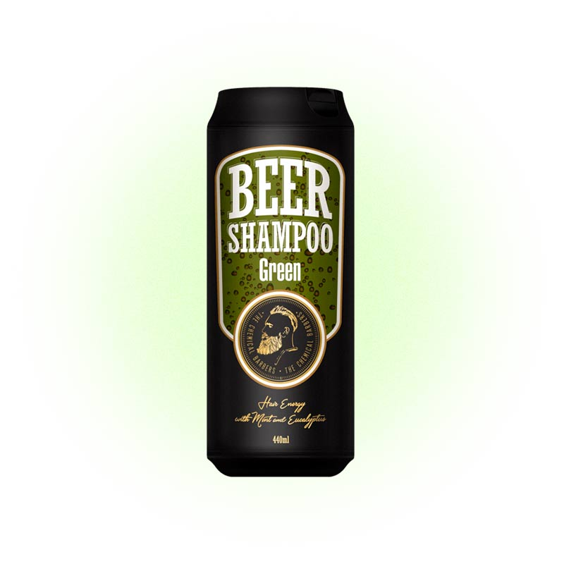 Green Beer Shampoo, The Chemical Barbers