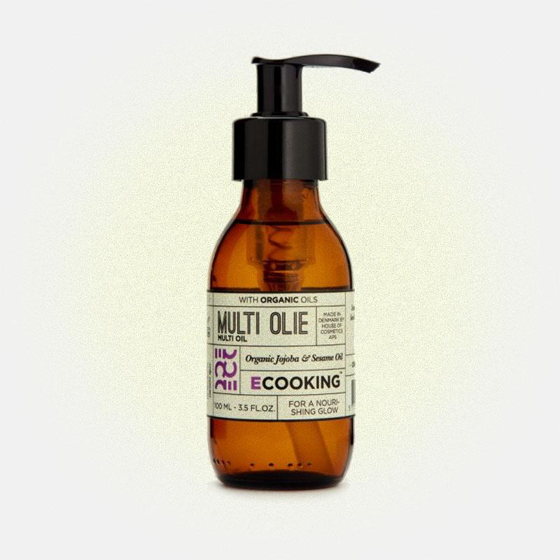 Мультифункциональное масло для тела и волос, Ecooking