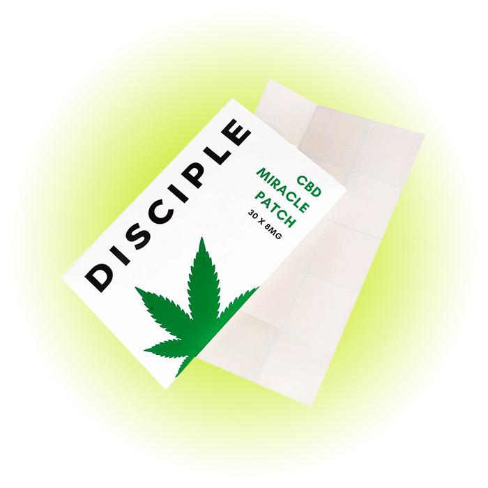 Успокаивающие патчи CBD Miracle Patch, DISCIPLE Skincare